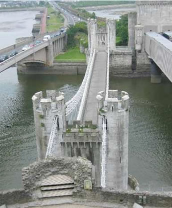 Image of the bridge where stonemasonry work was completed